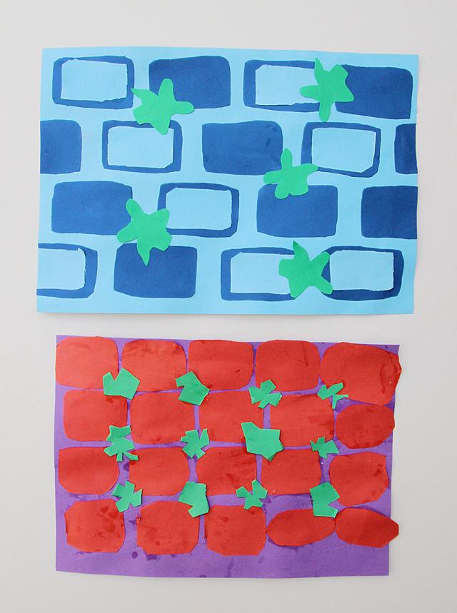 Cut Paper Collage For Tisha B'Av