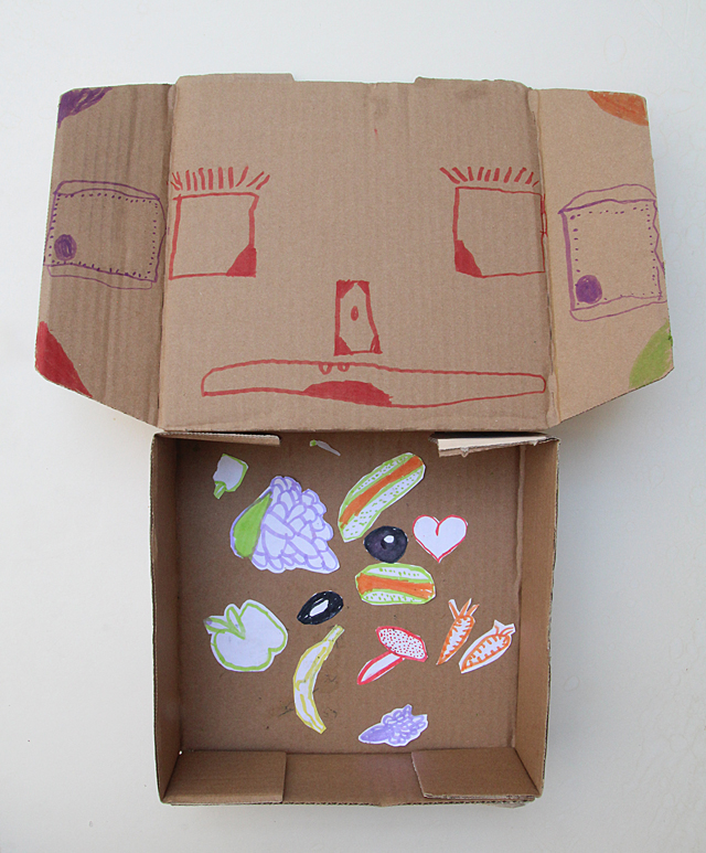 Drawing Exercise- Monster In A Box