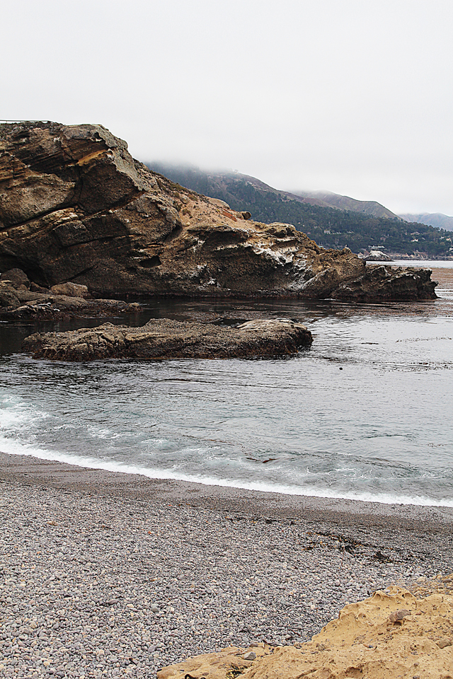 Point Lobos Pebbled Beach Looking South
