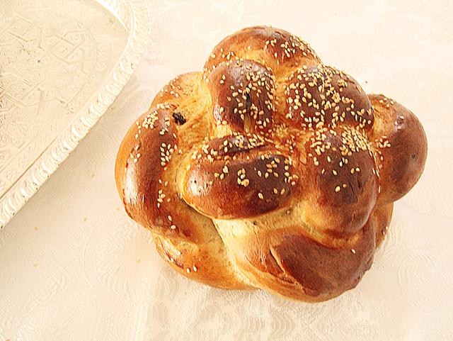 Challah Round With Spelt For Rosh HaShana