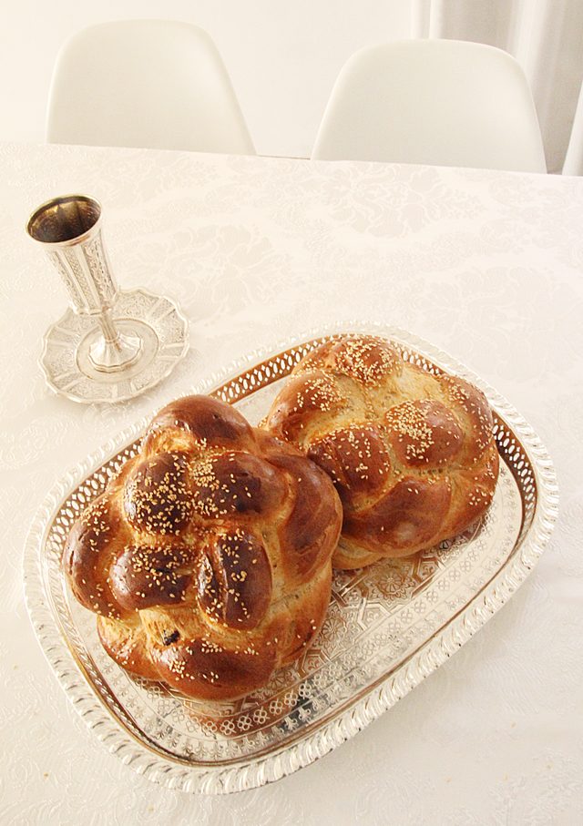 Round Braided Challahs Are A Breeze....For Rosh HaShana!