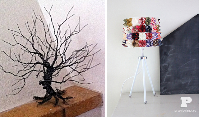 Wire bare tree,fortune teller lampshade