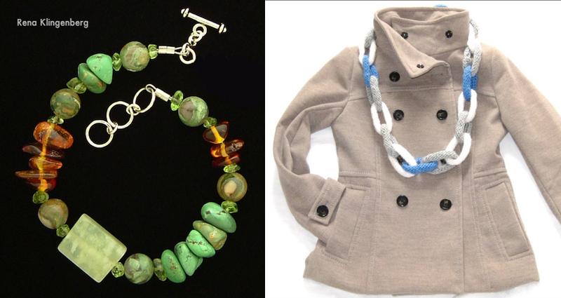 Knit links scarf,gemstone birthday party bracelets