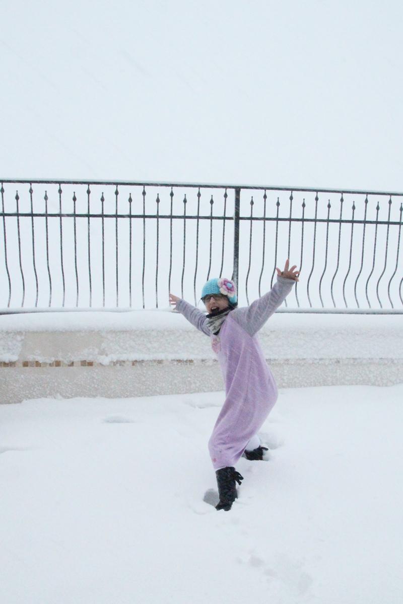 Snow In Israel, Galil 2013