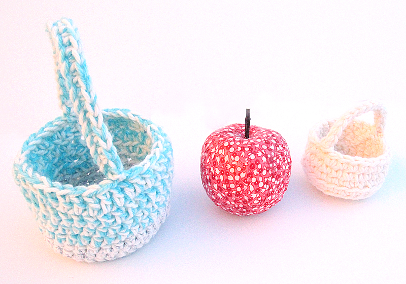 Crocheted Gift Baskets Big and Small2
