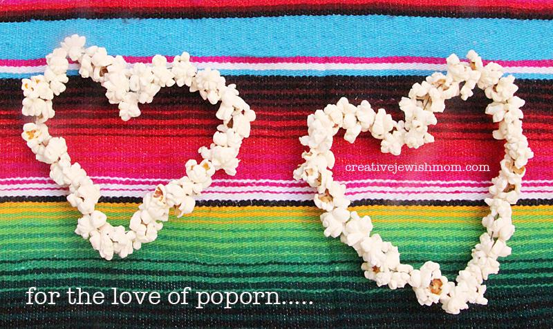 Popcorn Hearts For Birds