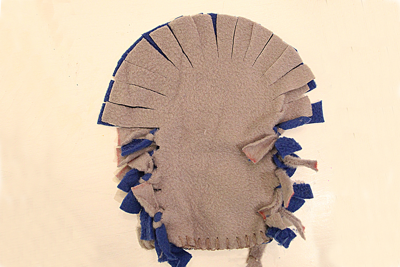No Sew Fleece Puppet How To 5-800