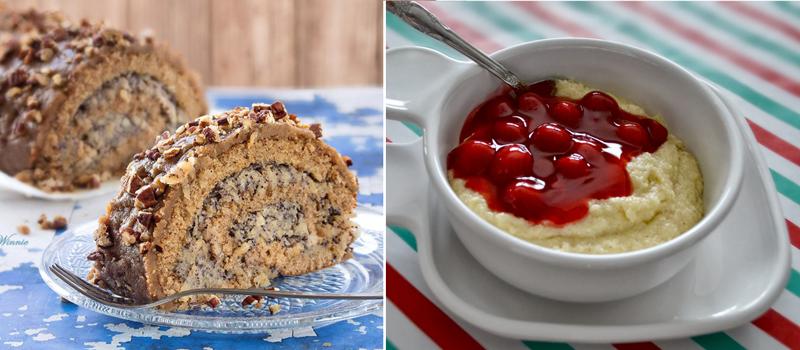 Roulade cake, 3 little bears porridge recipe