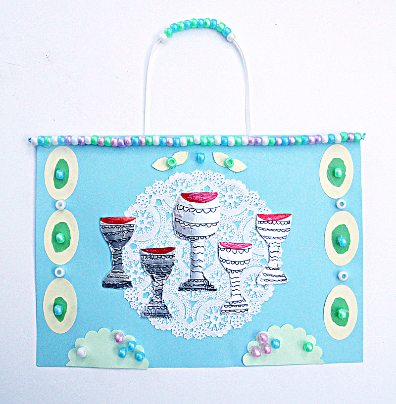 Passover Craft- Seder Table Wall Hanging