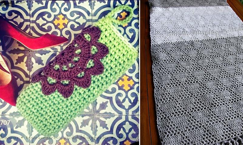 Crocheted glasses case,crocheted shawl