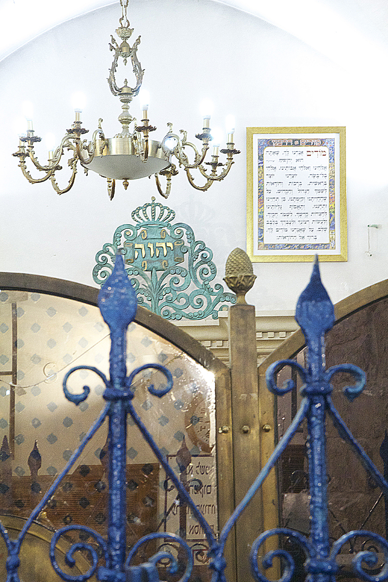 Rabbi Shimon Tomb Inside