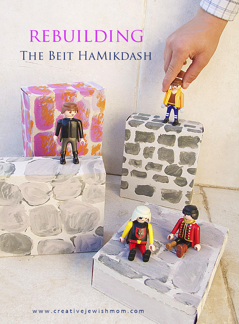 Rebuild Beit HaMikdash Kid's Craft