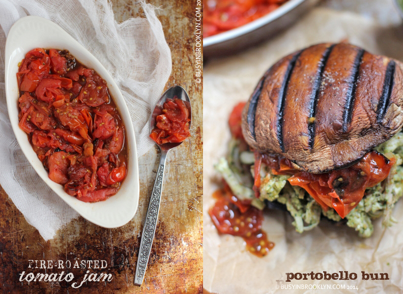 Portobello-bun