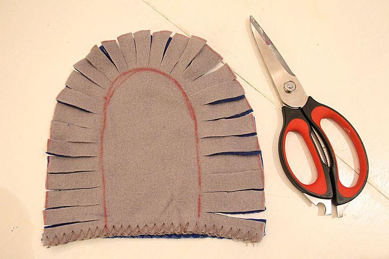 No Sew Fleece How To 4