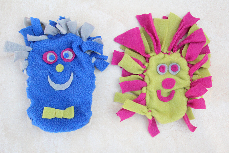 No Sew Fleece Puppets 800 pixels