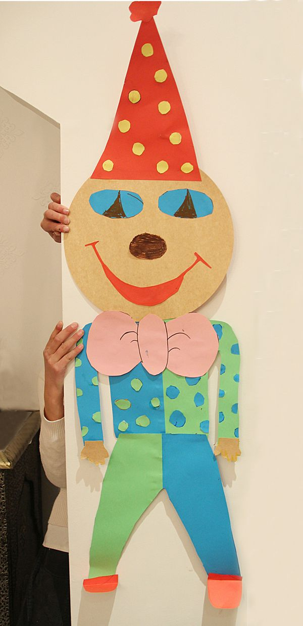 Make A Mask For Purim From A Round Piece Of Cardboard