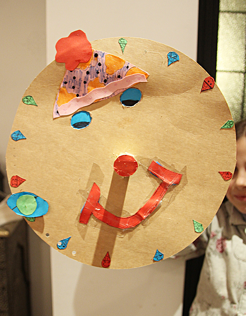 Purim Clown Mask Craft