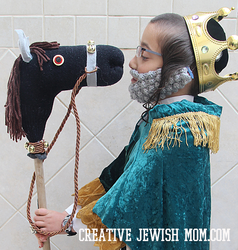 Crocheted Beard For Costume King