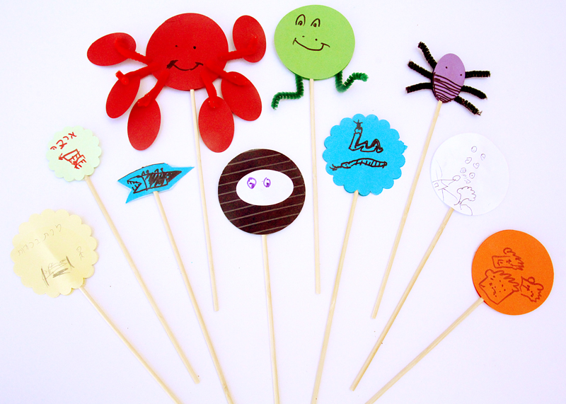 Ten Plagues Seder Craft For Kids