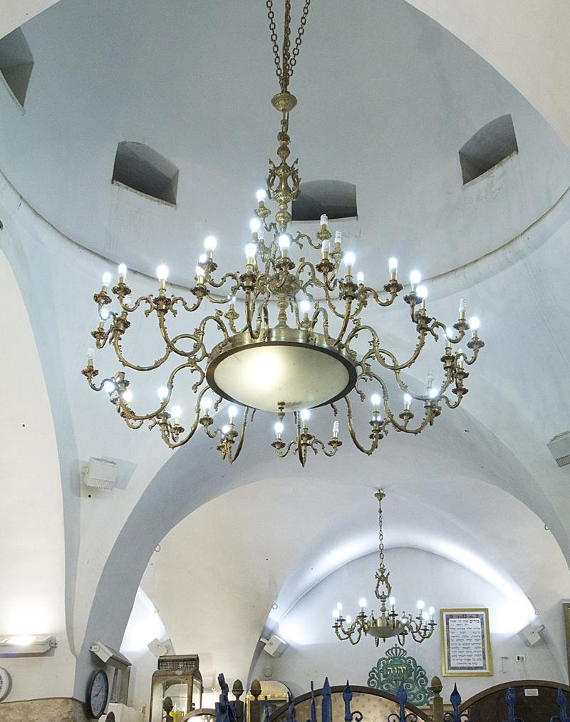Rabbi Shimon Tomb Meron, Ceiling