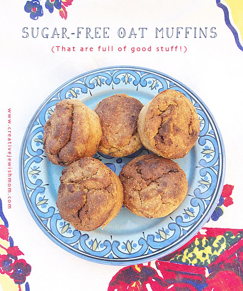 Sugar Free Oat Flour Muffins