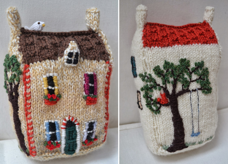 Knit Stuffed House
