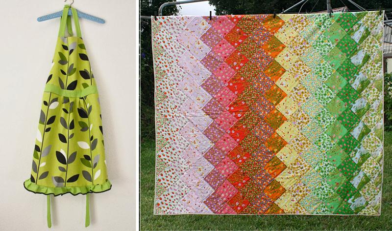 Quilt, apron pattern