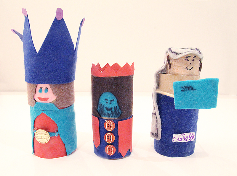 Toilet Paper Tube Dolls Esther And Mordechai For Purim