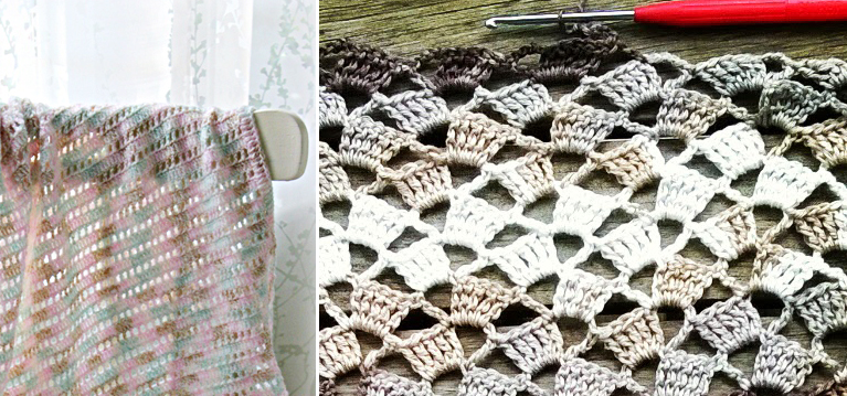 Simple crochet stitches to try,baby blanket, scarf