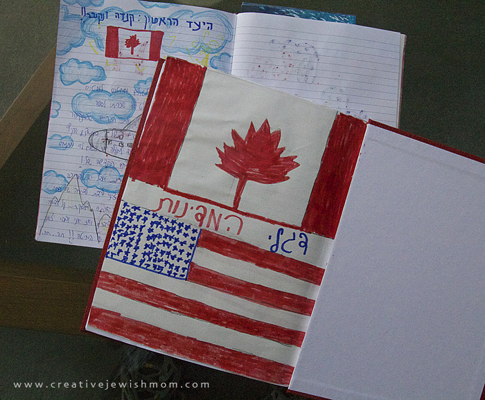 Travel Journals, simple, for kids