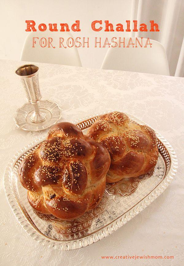 Easy To Braid Round Challahs For Rosh HaShana! - creative jewish mom