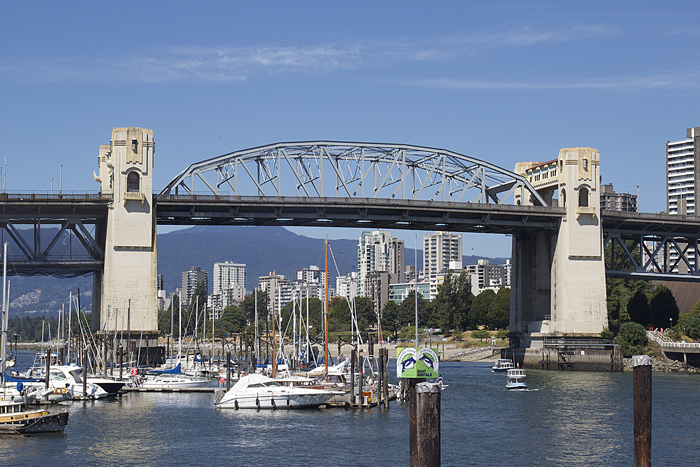 Vancouver False Creek Bridge