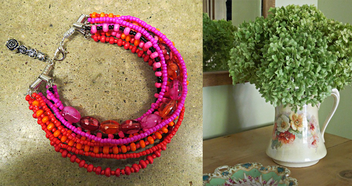 How to dry hydrangeas,beaded choker