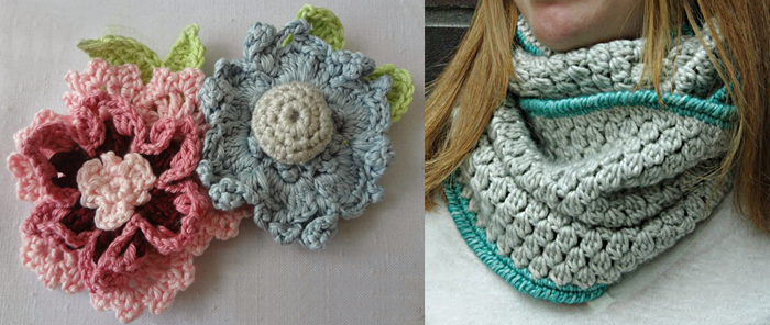 Crocheted bobble cowl pattern,lacy crocheted flowers