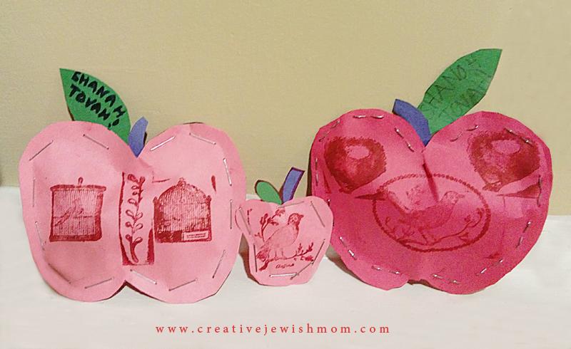 Stuffed Paper Apples Craft For Kids Creative Jewish Mom