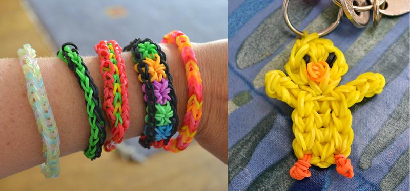 Rainbow loom bracelets,rainbow loom chick