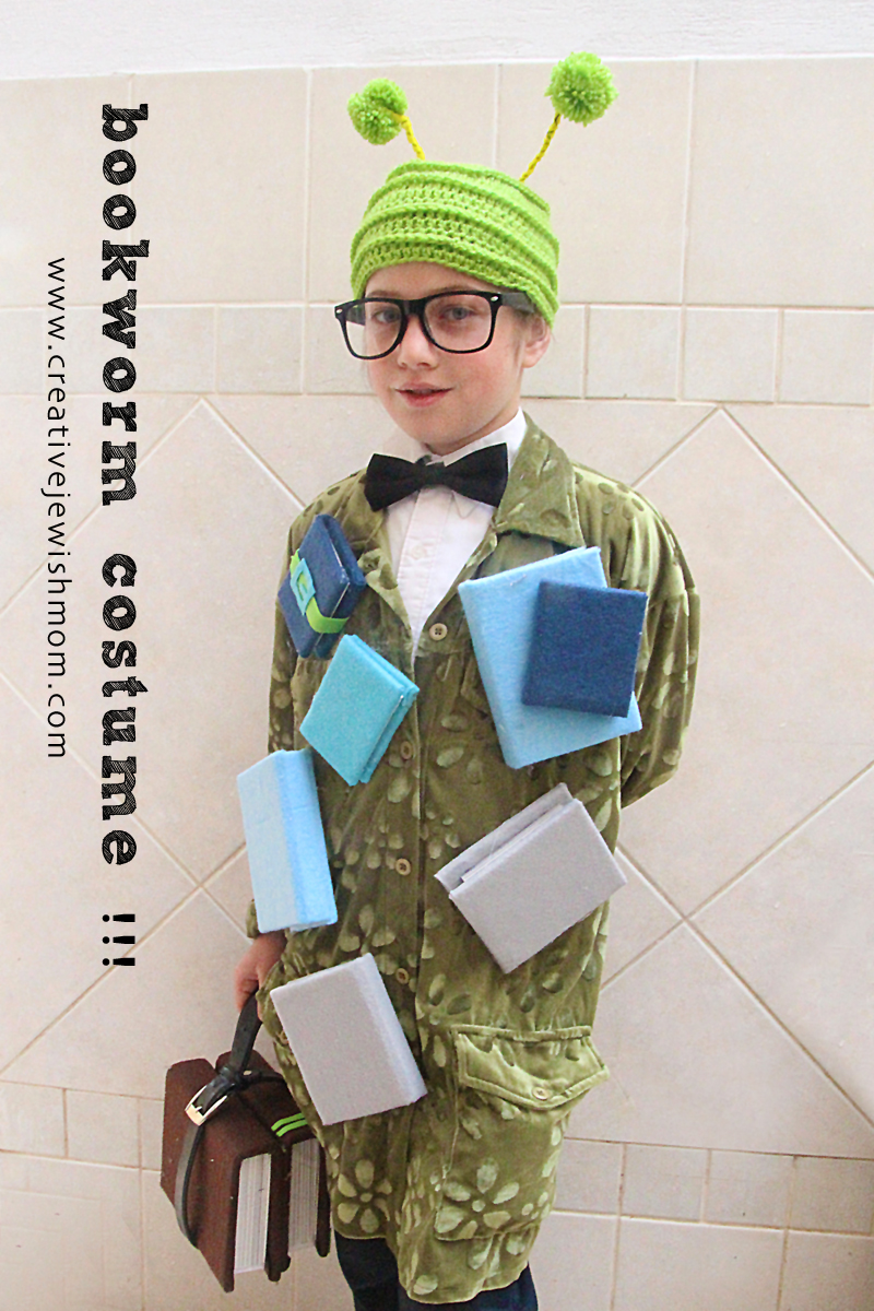 Bookwork Costume with felt books