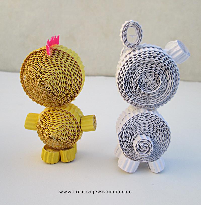 Cute Cardboard Crafts Cardboard Animal Craft