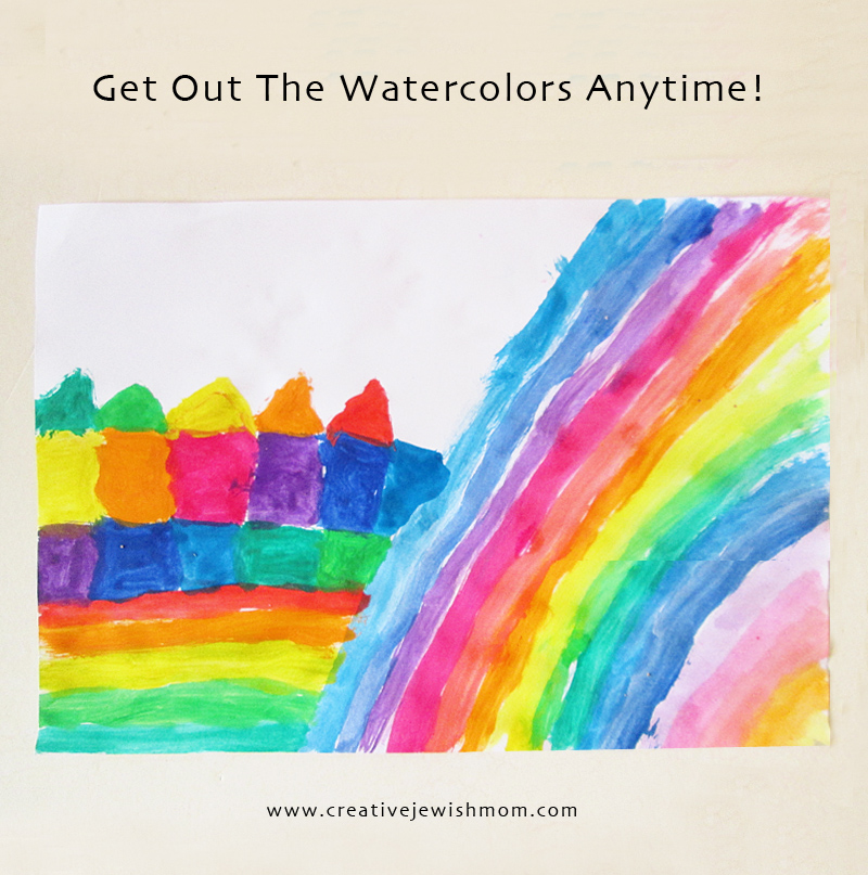 Watercolor Painting Anytime for kids