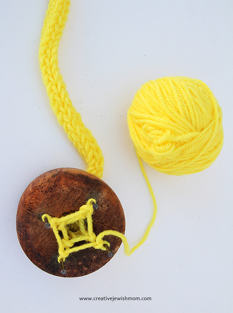 Spool Knitting for kids