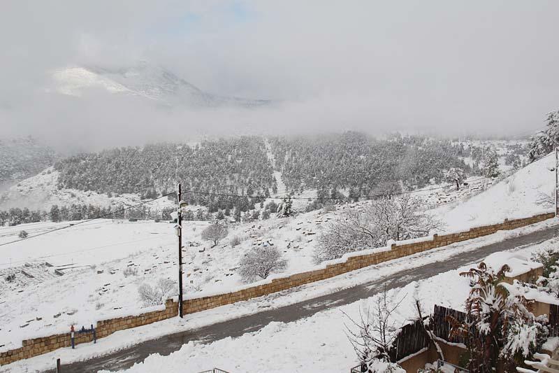 Snow Israel 2015 Galil