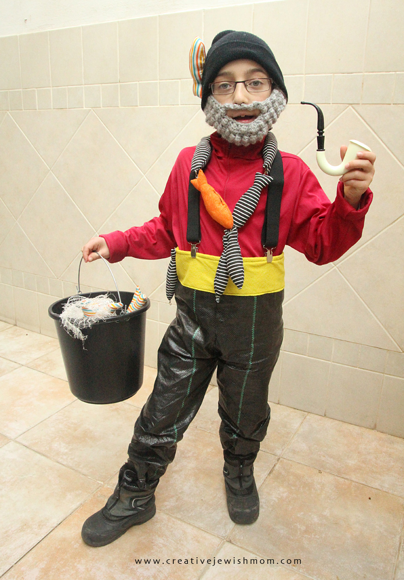 Fisherman Costume