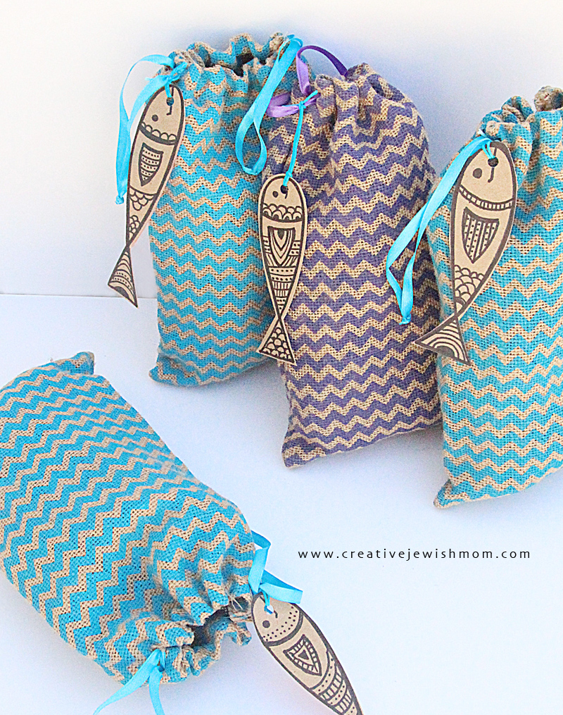 Burlap Gift Bags Party Favors