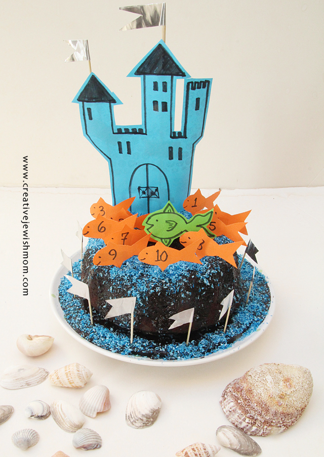 Birthday Cake Super Simple Decorations Underwater Castle Fairy Castle