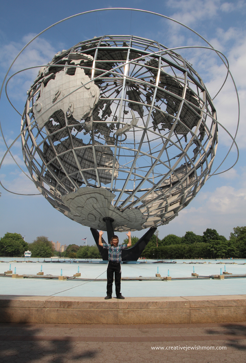 Unisphere Holding Up The World