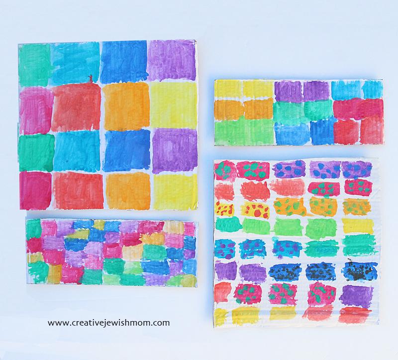 Kotel Craft For Tisha B'Av Painting The Stones