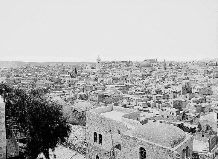 Jerusalem historic photo