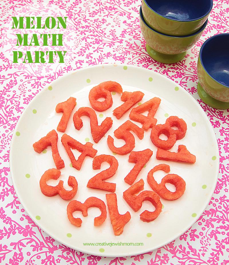 Watermelon Math Party
