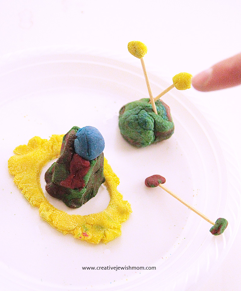 Playdough Abstract Sculpture For kids