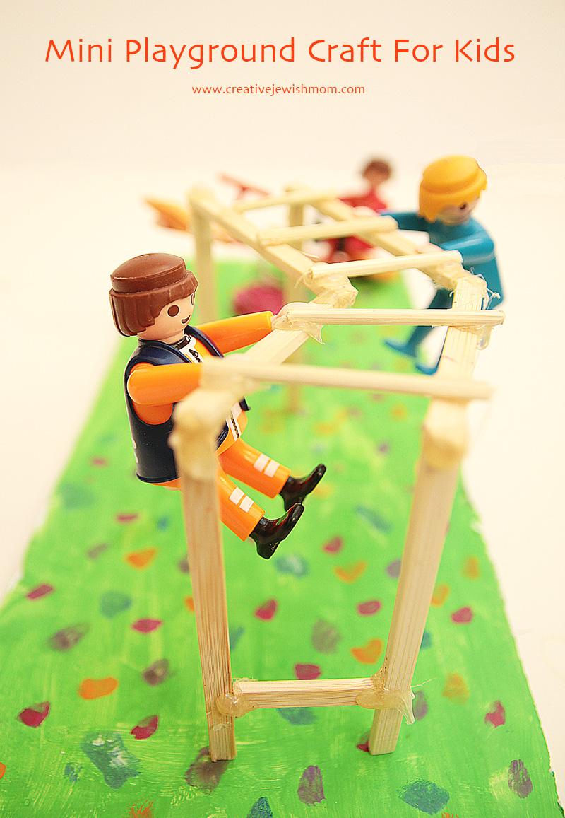 Miniature Playground Craft For Kids